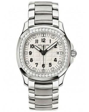 Patek Philippe Aquanaut Acier Inoxydable Diamants Blanc Femme 5087/1A-010