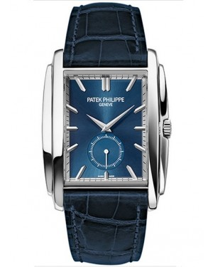 Patek Philippe Gondolo Or Blanc Bleu Homme 5124G-011