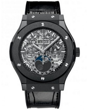 Hublot Classic Fusion Aerofusion Moonphase Black Magic Homme 517.CX.0170.LR