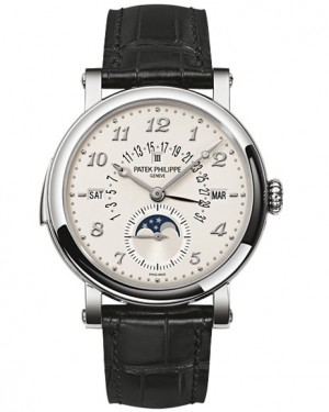 Patek Philippe Grand Complications Perpetual Calendar Or Blanc Homme 5940G-010