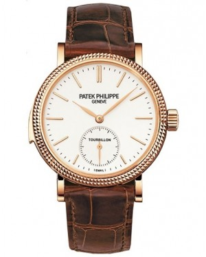Patek Philippe Grand Complications Tourbillon Minute Repeater Or Rose Homme 5339R