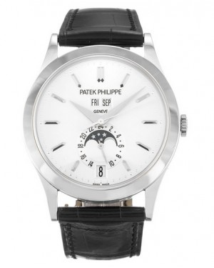 Patek Philippe Complications Calendrier Annuel Or Blanc 38mm Homme 5396G-011