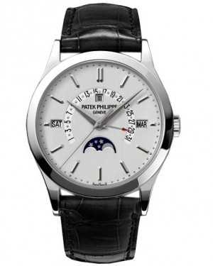 Patek Philippe Grand Complications Perpetual Calendar Platine Homme 5496P-001