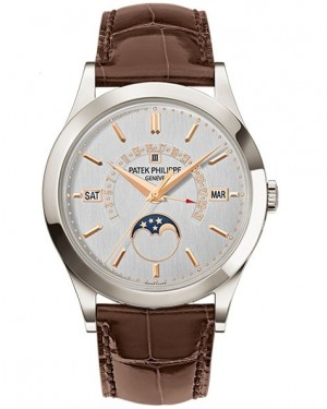 Patek Philippe Grand Complications Perpetual Calendar Platine Homme 5496P-015