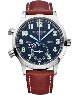 Patek Philippe Calatrava Pilot Travel Time Homme 5524G-001