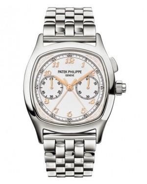 Patek Philippe Grand Complications Chronographe Platine Blanc Homme 5959P-001