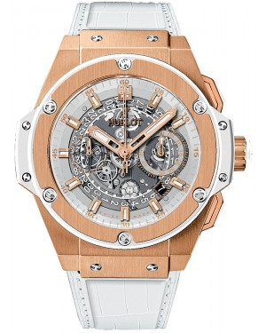 Hublot King Power Unico King Gold Blanc 48mm 701.OE.0128.GR