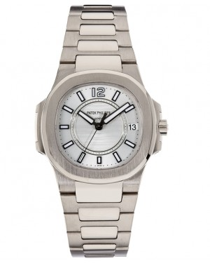 Replique Patek Philippe Nautilus Or Blanc Quartz 7011/1G-001
