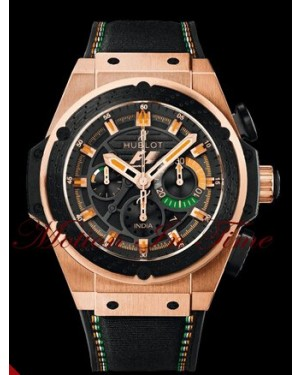 Hublot Big Bang King Power F1 India Or Rose 703.OM.1138.NR.FMI11