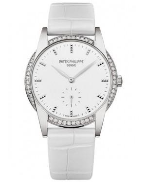 Patek Philippe Calatrava Diamants Or Blanc Femme 4897G-010