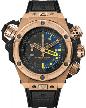 Hublot King Power Oceanographic 1000 48mm Or Rose 732.OX.1180.RX