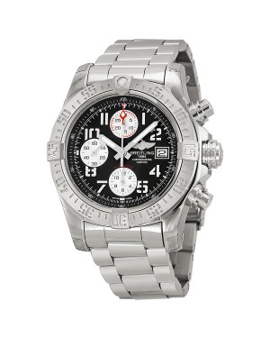 Breitling Avenger II Automatique Gris Cadran Acier inoxydable Hommes A1338111-F564SS