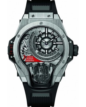 Hublot MP-09 Tourbillon Bi-Axis Titane Homme 909.NX.1120.RX