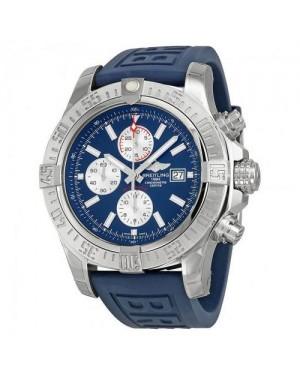 Breitling Avenger II GMT Bleu Cadran Bleu Caoutchouc Automatique Hommes A3239011-C872BLPD3