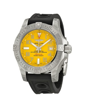 Breitling Avenger II Seawolf Cadran jaune Automatique Hommes A1733110-I519BKOR