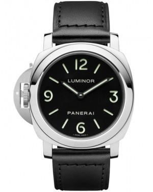 Panerai Luminor Base Left-Handed 44mm Cadran Noir Homme PAM00219
