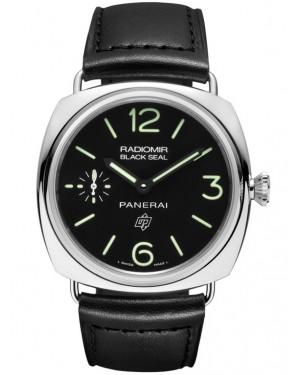 Panerai Radiomir Black Seal Logo Acciaio 45mm Homme PAM00380