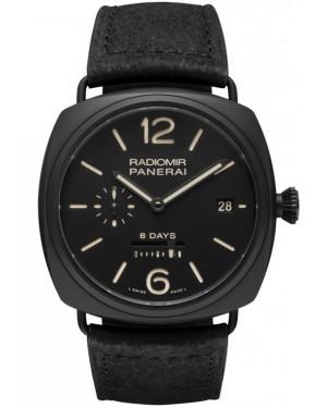 Panerai Radiomir 8 Jours Black Ceramica 45mm Homme PAM00384