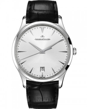 Jaeger LeCoultre Master Grande Ultra Thin Date Argent Homme Q1288420