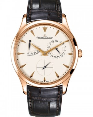 Jaeger LeCoultre Master Ultra Thin Reserve de Marche Or Rose Homme Q1372520