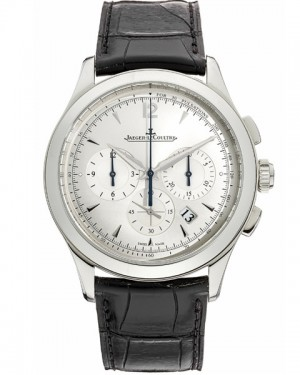 Jaeger LeCoultre Master Chronographe Argent Homme Q1538420