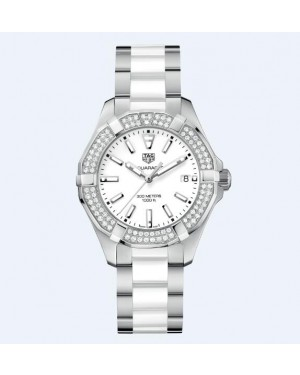 Tag Heuer Aquaracer 300M Ceramique & Diamants Dames WAY131F.BA0914
