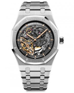 Audemars Piguet Royal Oak Double Balance Wheel Openworked Acier Inoxydable 15407ST.OO.1220ST.01