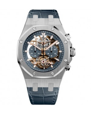 Audemars Piguet Royal Oak Tourbillon Chronographe Openworked Platine 26347PT.OO.D315CR.01