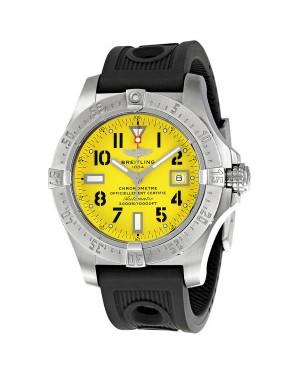 Breitling Avenger Seawolf Cadran jaune Hommes A1733010-I513BKRD