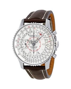 Breitling Montbrilliant Datora Cadran Argente Chronographe Hommes A2133012-G518BRLD