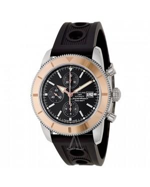 Breitling Superocean Heritage Chronographe Cadran Noir Caoutchouc Hommes U1332012-B908BKOR