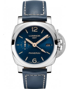 Panerai Luminor 1950 3 Days GMT Boutique Blue Automatique Homme PAM00688